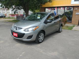 Used 2012 Mazda MAZDA2 GX for sale in Barrie, ON