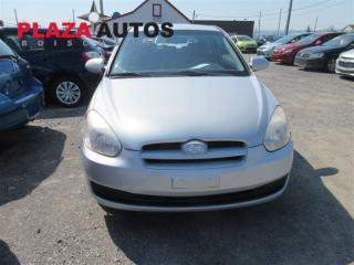 Used 2007 Hyundai Accent GL for sale in Quebec, QC