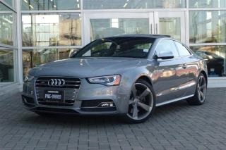 Used 2015 Audi S5 3.0T Technik quattro 7sp S tronic Cpe *Loaded* for sale in Vancouver, BC