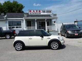 Used 2008 MINI Cooper Hardtop S 6 SPEED LEATHER for sale in Barrie, ON