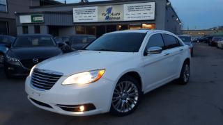 Used 2012 Chrysler 200 Limited LEATHER, P-MOON for sale in Etobicoke, ON