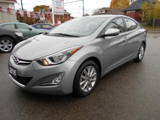 Used 2016 Hyundai Elantra SPORT/SUNROOF/ALLOYS/BACK-UP CAMERA for sale in Guelph, ON