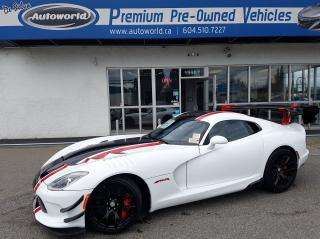 Used 2017 Dodge Viper ACR for sale in Langley, BC