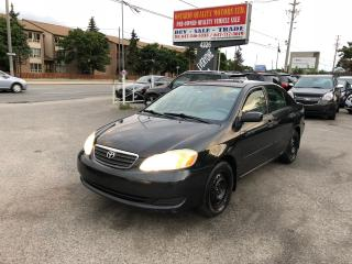 Used 2006 Toyota Corolla CE for sale in Scarborough, ON