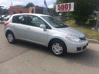 Used 2011 Nissan Versa HATCHBACK,AUTO,166K,SAFETY+3YEARS WARANTY INCLUDED for sale in North York, ON