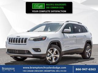 New 2019 Jeep Cherokee Limited for sale in Brampton, ON