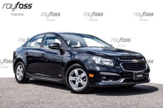 Used 2016 Chevrolet Cruze LT w/ RS pkg Sunroof Rear Camera Bluetooth for sale in Thornhill, ON