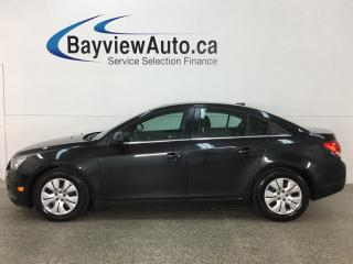 Used 2014 Chevrolet Cruze 1LT - SUNROOF! REVERSE CAMERA! MYLINK! ONSTAR! CRUISE! A/C! for sale in Belleville, ON