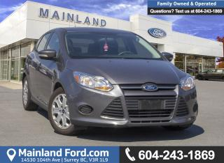 Used 2014 Ford Focus SE *ACCIDENT FREE* *LOCALLY DRIVEN* for sale in Surrey, BC