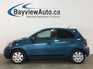 Used 2015 Nissan Micra SV - REVERSE CAMERA! BLUETOOTH! A/C! CRUISE! PWR GROUP! for sale in Belleville, ON