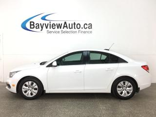 Used 2016 Chevrolet Cruze - REMOTE START! ONSTAR! MYLINK! A/C! CRUISE! for sale in Belleville, ON
