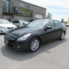 Used 2010 Infiniti G37 X Sport AWD, LEATHER SUNROOF, BACKUP CAMERA for sale in Newmarket, ON
