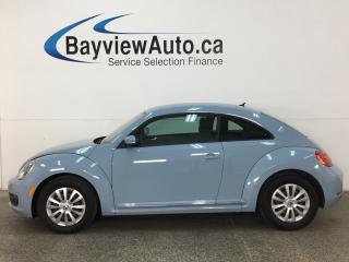 Used 2015 Volkswagen Beetle 1.8 TSI Trendline - 5SPD! HTD SEATS! A/C! BLUETOOTH! CRUISE! PWR GROUP! for sale in Belleville, ON