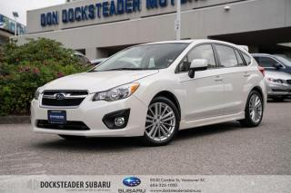 Used 2014 Subaru Impreza 5Dr Sport Pkg at SUNROOF - HEATED SEATS - BLUETOOTH for sale in Vancouver, BC