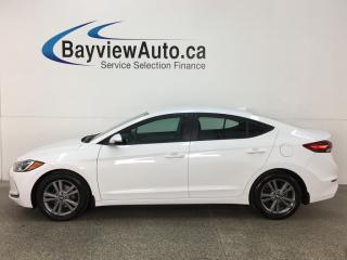 Used 2017 Hyundai Elantra GL - HTD SEATS! REVERSE CAM! BLUETOOTH! ANDROID AUTO! for sale in Belleville, ON