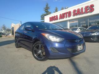 Used 2013 Hyundai Elantra AUTO 4DR BLUETOOTH HEATED SEAT A/C NO ACCIDENT PW for sale in Oakville, ON