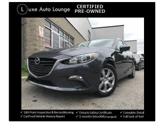 Used 2014 Mazda MAZDA3 GX-SKY AUTO, ONLY 45K! A/C, BLUETOOTH, LOADED! for sale in Orleans, ON