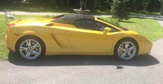 Used 2008 Lamborghini Gallardo Spyder for sale in Mascouche, QC