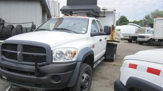 Used 2009 Dodge Ram 3500 5500 DUMP PLOW DIESEL for sale in North York, ON