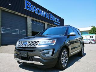 Used 2017 Ford Explorer Platinum, LOCAL, ACCIDENT FREE, ALL OPTIONS for sale in Surrey, BC