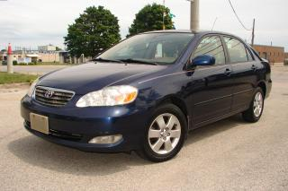 Used 2006 Toyota Corolla LE for sale in Mississauga, ON