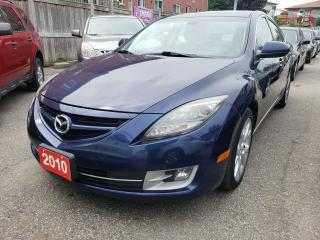 Used 2010 Mazda MAZDA6 GT/Leather, Heated Seats/Bluetooth/Roof/Fog Light for sale in Scarborough, ON