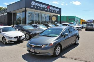 Used 2012 Honda Civic LX | Econ Mode | Bluetooth | Folding Seats for sale in Markham, ON