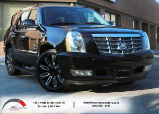 Used 2012 Cadillac Escalade LUXURY|Navigation|DVD|BSM|Backup Camera for sale in North York, ON