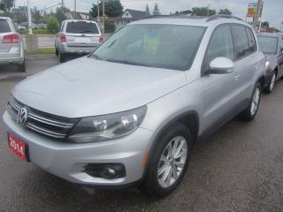 Used 2014 Volkswagen Tiguan tsi 4motion for sale in Hamilton, ON