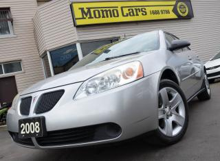 Used 2008 Pontiac G6 SE!Sunroof!Only$120/Bi-weekly! for sale in St. Catharines, ON