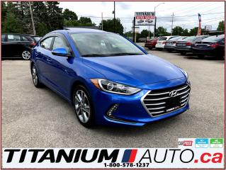 Used 2017 Hyundai Elantra GLS+Camera+Sunroof+Blind Spot & Cross+Apple Play++ for sale in London, ON