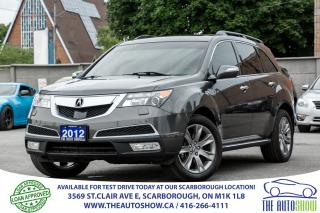 Used 2012 Acura MDX Elite NAVI BACK-UP CAM Heated Leather Sunroof for sale in Scarborough, ON