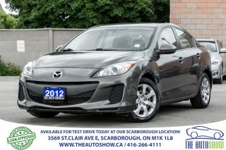 Used 2012 Mazda MAZDA3 Power Group Traction Control Carproof Verified for sale in Scarborough, ON