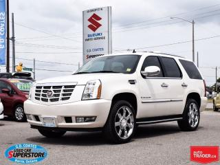 Used 2007 Cadillac Escalade ~Nav ~DVD ~Backup Cam ~Heated/Cooled Leather for sale in Barrie, ON