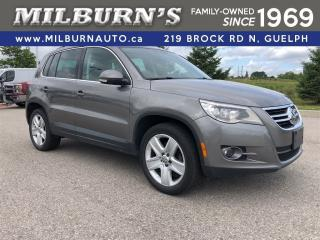 Used 2010 Volkswagen Tiguan COMFORTLINE AWD for sale in Guelph, ON