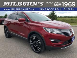 Used 2017 Lincoln MKC Reserve AWD for sale in Guelph, ON