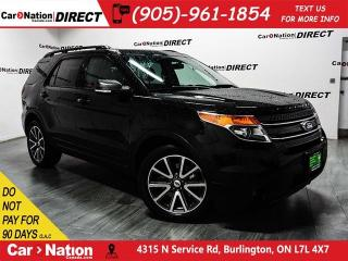 Used 2015 Ford Explorer XLT| NAVI| DUAL SUNROOF| LEATHER-TRIMMED SEATS| for sale in Burlington, ON