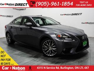 Used 2014 Lexus IS 250 | AWD| NAVI| SUNROOF| BLIND SPOT DETECTION| for sale in Burlington, ON