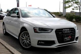 Used 2015 Audi A4 2.0T Komfort + Leather Interior   Climate Control for sale in Whitby, ON