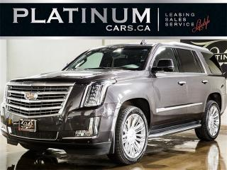 Used 2015 Cadillac Escalade PLATINUM, 7 PASSENGER, NAVI, ENTERTAINMENT SYS for sale in North York, ON