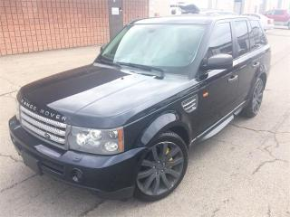 Used 2008 Land Rover Range Rover Sport SC for sale in Burlington, ON