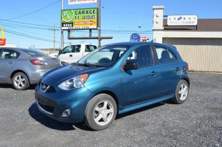 Used 2015 Nissan Micra for sale in St-Georges-Est, QC
