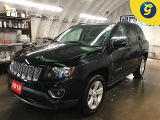 Used 2016 Jeep Compass HIGH ALTITUDE*SPORT*4WD*LEATHER SEATS*SUNROOF*UCONNECT PHONE CONNECT/VOICE COMMAND*KEYLESS ENTRY*FRONT HEATED SEATS/HEATED MIRRORS*POWER SEAT/MIRRORS/ for sale in Cambridge, ON