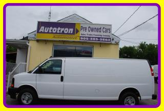 Used 2017 Chevrolet Express 2500 3/4 Ton EXTENDED Cargo Van, Loaded for sale in Woodbridge, ON