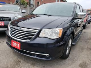 Used 2011 Chrysler Town & Country Limited/Leather/Navi/Camera/Bluetooth/DVD/Alloys for sale in Scarborough, ON