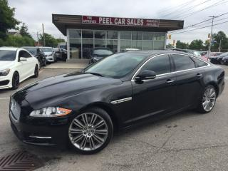 Used 2012 Jaguar XJ 2012 JAGUAR XJ|87K|SUNROOF|LEATHER SEATS|NAVI| for sale in Mississauga, ON