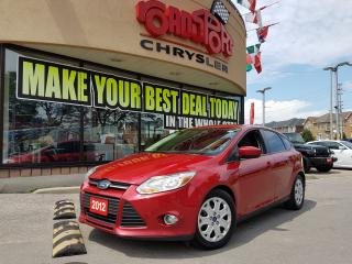 Used 2012 Ford Focus SE KEYLESS CLEAN CARPROOF SAVE ON FUEL for sale in Scarborough, ON