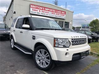 Used 2010 Land Rover LR4 LUX 7 Pass NAV for sale in Burlington, ON