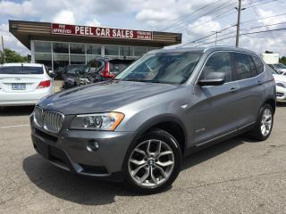 Used 2014 BMW X3 xDrive28i |PANOROOF|LEATHER|ONEOWNER|CERTIFIED! for sale in Mississauga, ON