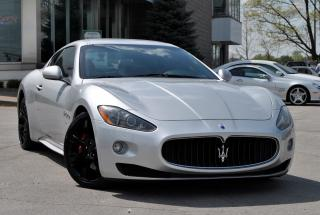 Used 2010 Maserati GranTurismo S 4.7 MARCH MADNESS - WE FINANCE ALL CREDITS! for sale in Oakville, ON